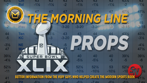 NFL Morning Line Super Bowl Props