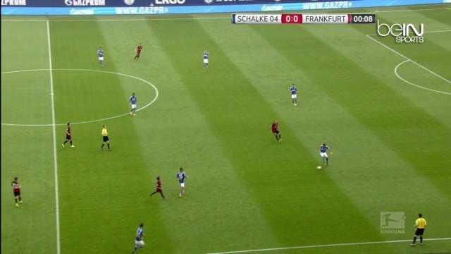 Bundes : Schalke 04 2-2 Francfort