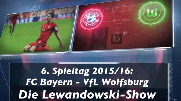 Fakt des Tages: Lewandowskis Sternstunde