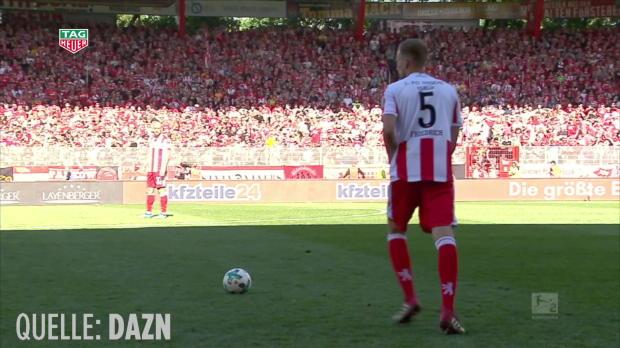 Union Berlin rettet sich mit irrem Slapstick-Tor |Bundesliga-News