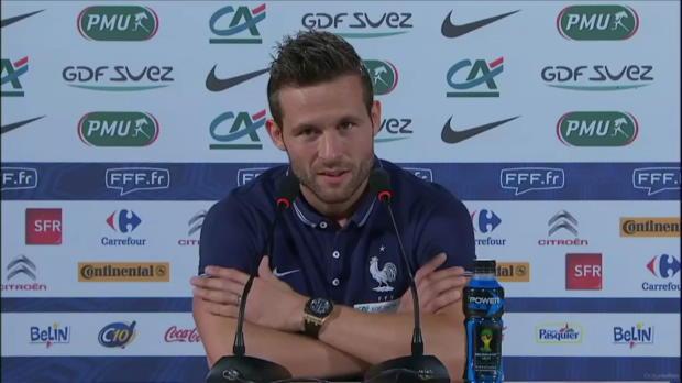 Bleus - Cabaye : 'Postuler pour le match de lundi'