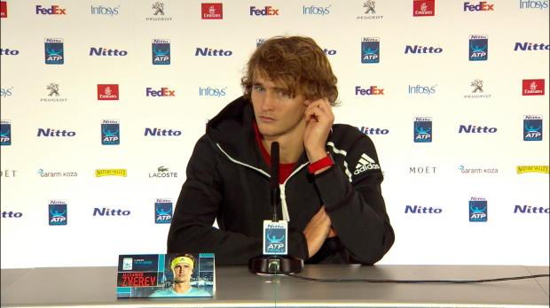 "Tennis : Masters - Zverev - ""Le tournoi n'est pas terminé"""