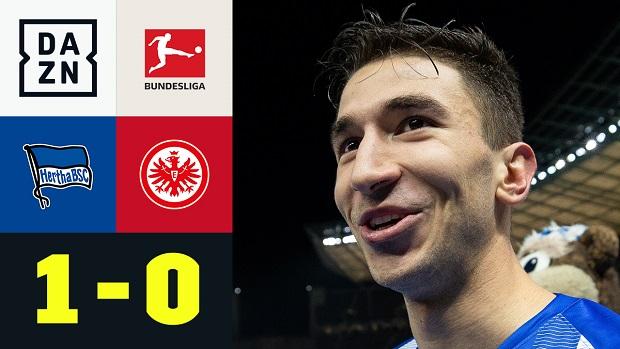 Bundesliga: Hertha BSC - Eintracht Frankfurt | DAZN Highlights