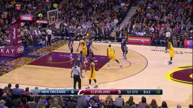 WSC: Highlights: LeBron James (27 points) vs. the Pelicans, 2/6/2016