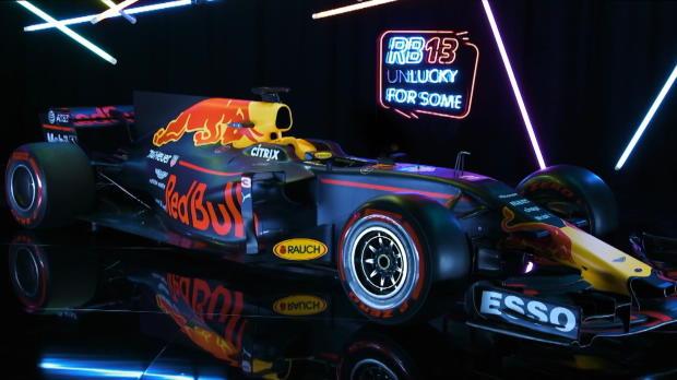 Presentación del nuevo Red Bull