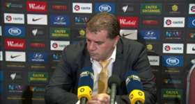 Coach Ange Postecoglou paid tribute to his squad's progress following their thumping win over Jordan.