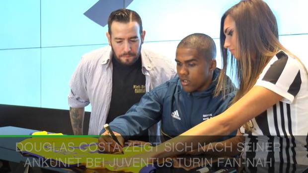 Douglas Costa begeistert Juve-Fans