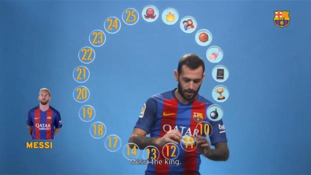 Emoji-König! Barca-Stars küren Lionel Messi