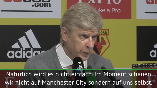 """Wenger: Titel? """"Schauen nicht auf City"""""""