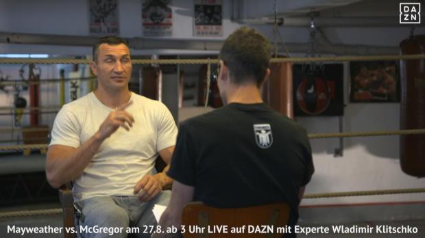 """Boxen: Klitschko: """"McGregor hat nur eine Chance"""""""