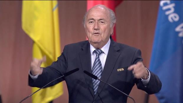 FIFA: Wahlsieger Blatter: Let's go, FIFA