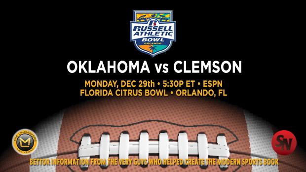 Oklahoma Sooners vs. Clemson Tigers
