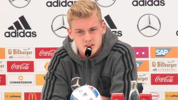 """EM 2016: Brandt: """"Nichts zu verlieren!"""""""