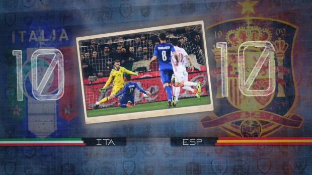 Fünf Fakten vor Italien gegen Spanien