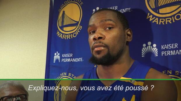 """Basket : NBA - NBA - Durant - """"Je ne suis pas tombé tout seul"""""""