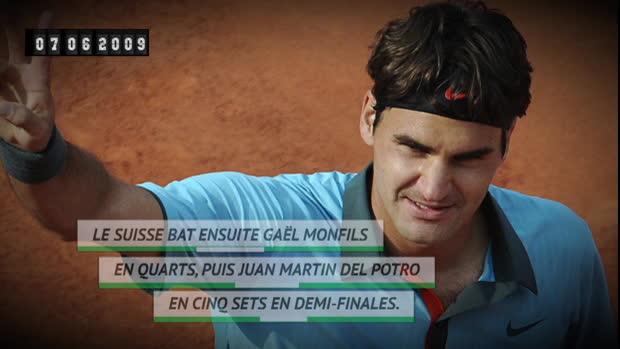 Basket : Il y a 10 ans - Roger Federer, enfin !
