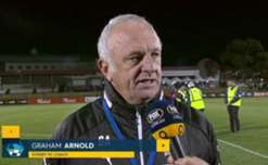 Graham Arnold says Canberra Olympic gave a good account of themselves in the FFA Cup Semi-Final against Sydney FC.