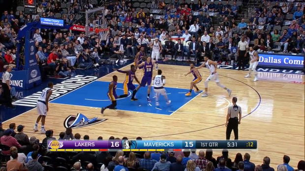 WSC: Dallas Mavericks with 17 3-pointers against the Lakers