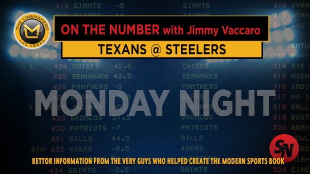 Jimmy V on Steelers @ Texans