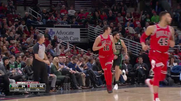 WSC: Paul Zipser 8 points vs the Celtics