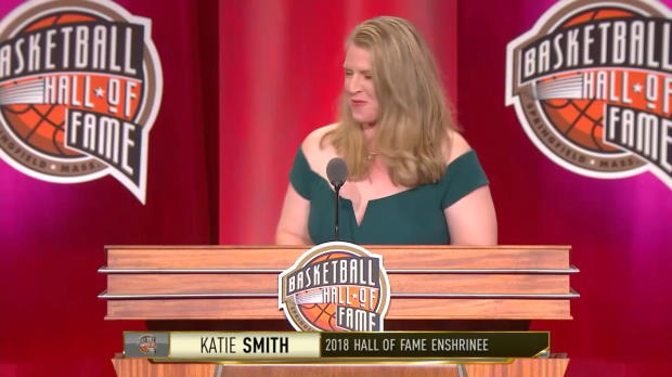 Hall of Fame Ceremony- Katie Smith Speech
