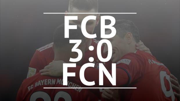Fast Match Report: FC Bayern - 1. FC Nürnberg