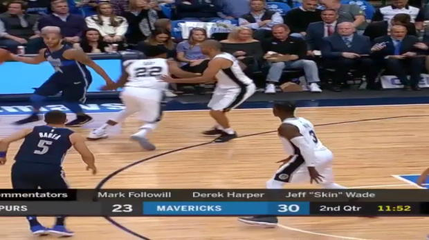 WSC: JJ Barea 16 points vs the Spurs
