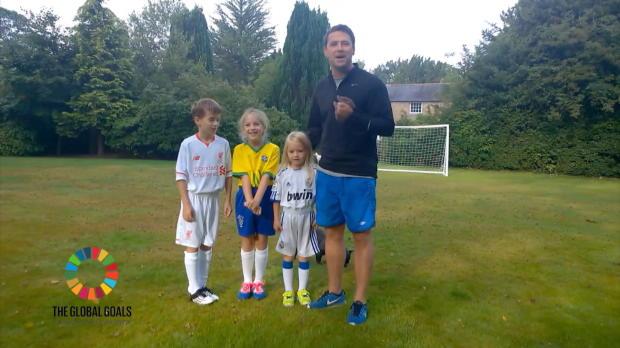 Dizzy Goal: Mit Michael Owen und Kids