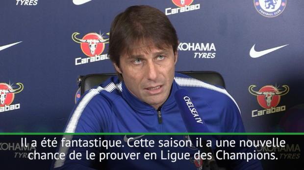 13e j. - Conte - 'Hazard peut faire partie des meilleurs'