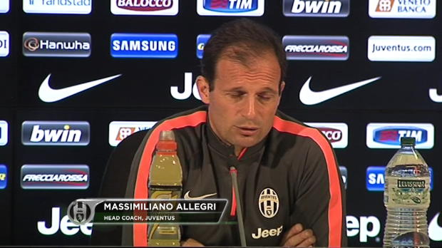 "Allegri: ""En el Real Madrid son gal�cticos"""