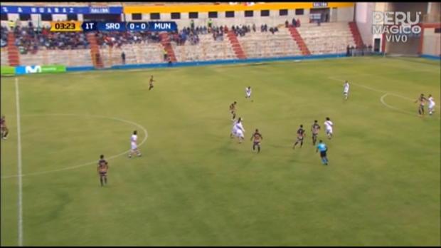 Peru: Fifa-Tor und Brutalo-Foul bei Ligaspiel