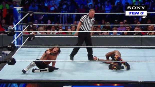 AJ Styles vs. Shelton Benjamin: SmackDown LIVE, 9 October, 2018