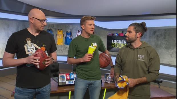 Locker Room: Die Warriors schon wieder in den Finals