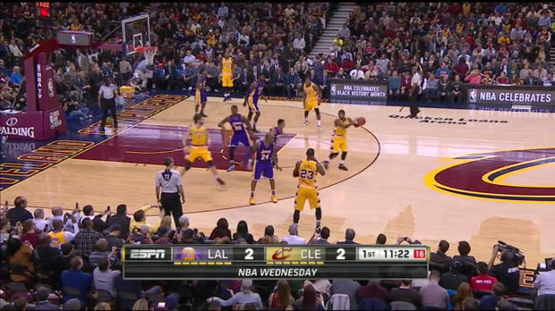 WSC: Kyrie Irving scores 35 points in win over the Lakers