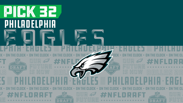 Eagles pick No. 32 | NFL Mock Draft Live