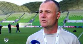 Hear from assistant coach Jean-Paul de Marigny ahead of Melbourne Victory's match against Perth Glory at AAMI Park.