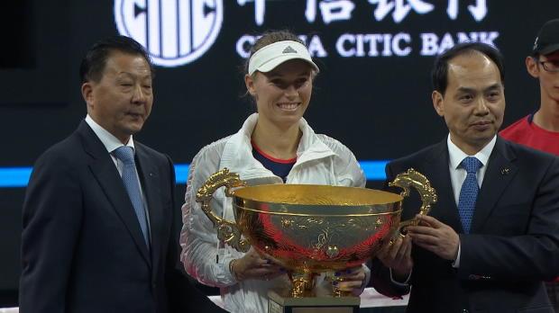 Tennis : Pékin - 30e titre pour Wozniacki