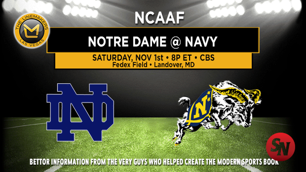 Notre Dame Fighting Irish @ Navy Midshipmen