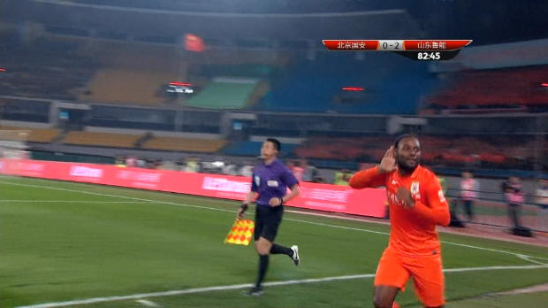 Chine - 7�me journ�e, Vagner Love cartonne Beijing