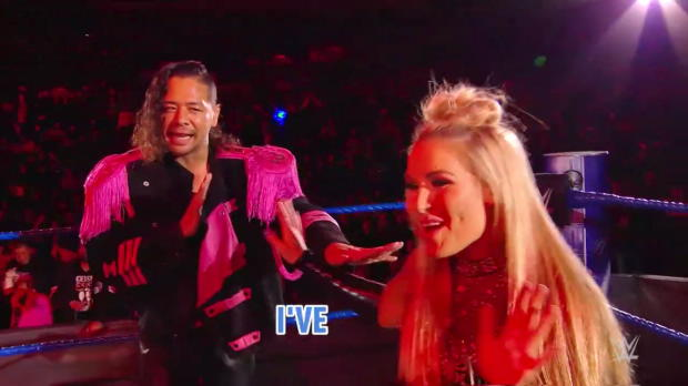Warning, the mics were live during WWE Mixed Match Challenge premiere match!
