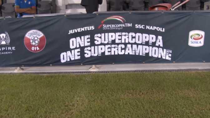 SuperCoupe Italie - La Juventus en favori