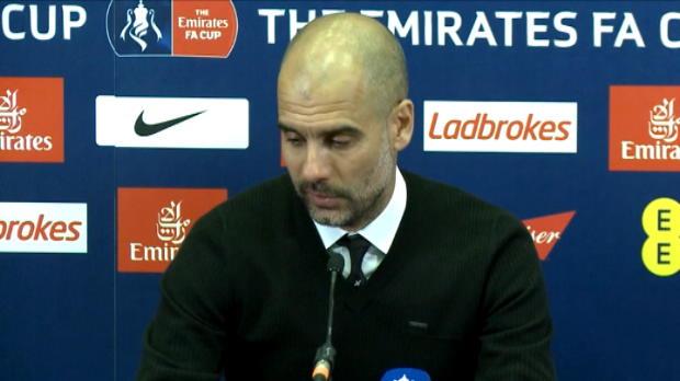 كرة قدم: كأس الاتحاد الإنكليزي: غوارديولا يتعهد بأن سيتي سيعود أقوى