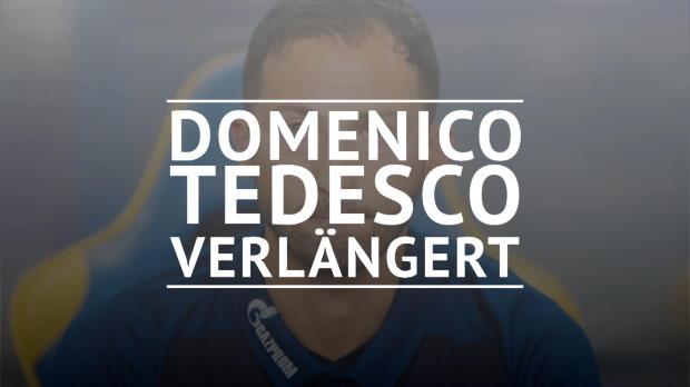 Tedesco verlängert auf Schalke bis 2022