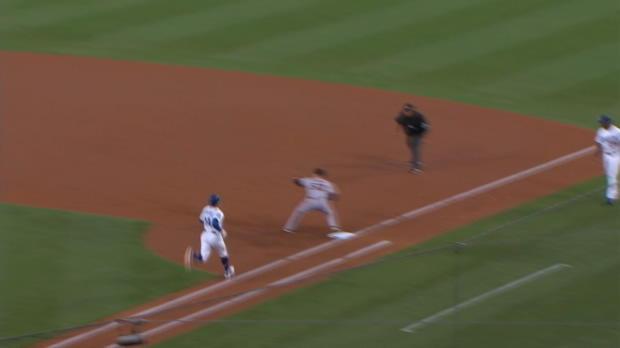 Bumgarner K's 4 vs. Dodgers