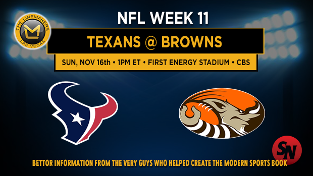 Houston Texans @ Cleveland Browns