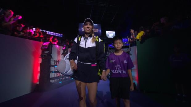 Finals: Wozniacki unterliegt im Marathon-Match