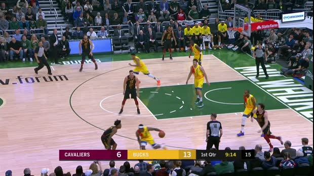GAME RECAP: Bucks 127, Cavaliers 105