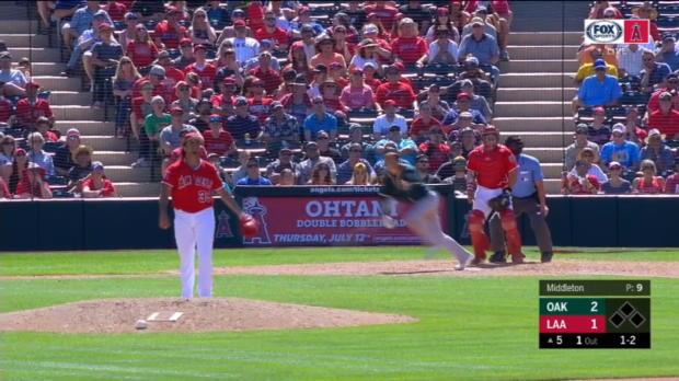 Smolinski's solo home run