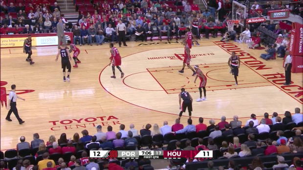 WSC: Damian Lillard with 10 Assists against the Rockets