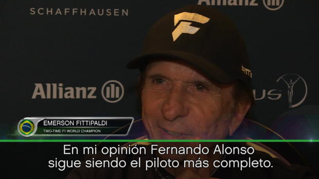 """F1 - Fitipaldi: """"Alonso es el más completo"""""""